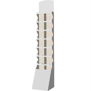 Picture of סטנד ריצפתי 7 מדפים גבוה