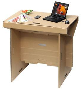 תמונה של שולחן עמידה מתקפל