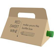 תמונה של אריזת מתנה לבקבוקי יין