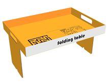 תמונה של שולחן אוכל אישי נייד