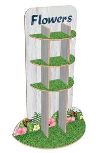 תמונה של מעמד תצוגה לפרחים