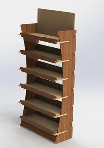 Picture of סטנד עץ רחב ממותג