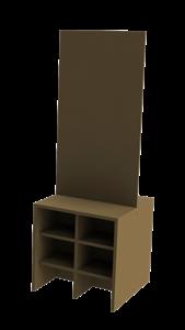 Picture of קיר עם מדפים לתערוכה