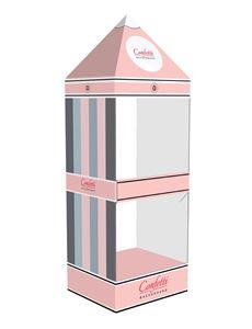 Picture of סטנד דלפקי 2 קומות עם גג