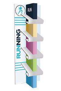 תמונה של סטנד תצוגה לנעלי ריצה