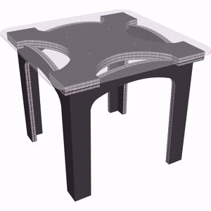 Picture of שולחן שקוף