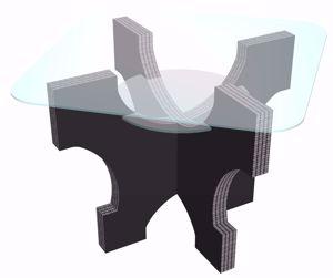 Picture of שולחן שקוף קומות